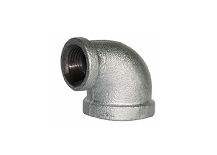 90 Degree Malleable Iron Pipe Elbow Threaded Pipe Fitting Dimensions