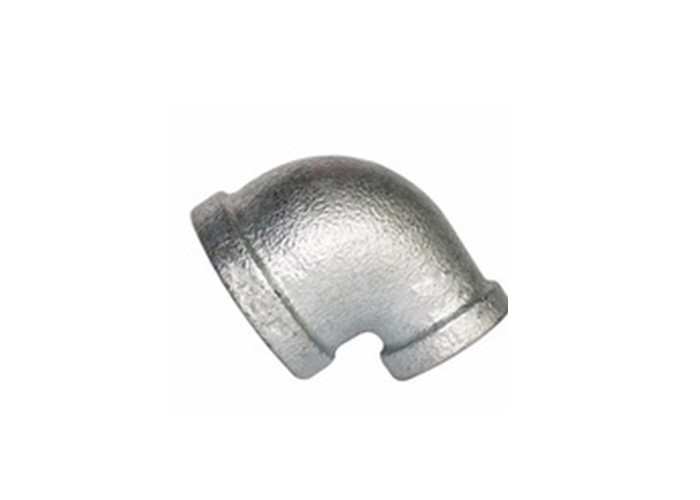 Plain Malleable Iron Elbow 1 Inch Galvanized Pipe Fittings No Thread