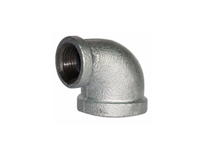 High Strength Malleable Iron Elbow Pipe Fitting 221 Galvanized Side Outlet Elbow