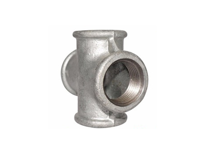 Durable Hot Galvanized Cross Fitting Pipe Reduction Fittings High Tensile Strength