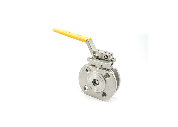 3 Inch 1 Piece Stainless Steel Valves Flanged Type Gas Ball Valve Hydraulic Power