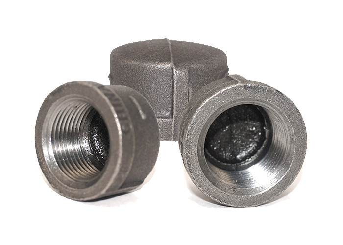 6 / 4 Inch  Natural Gas Pipe Fittings UL / FM Ductile Threaded Eco Friendly