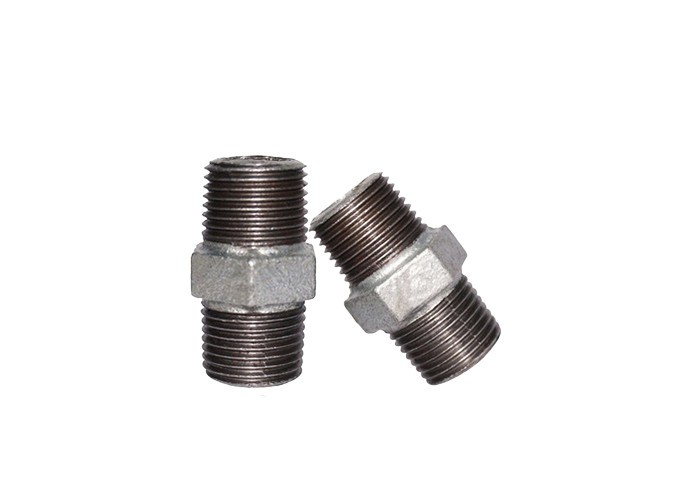 BSP Equal Sewage Plumbing Pipe Fittings Nipple Threaded Gas 1.6Mpa