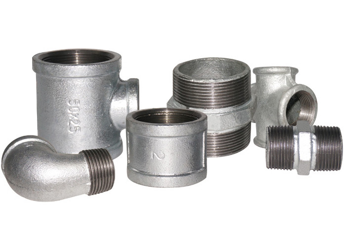 GI Socket Galvanized Plumbing Fittings 1/2 Inch Pipe Fittings Malleable Iron Material