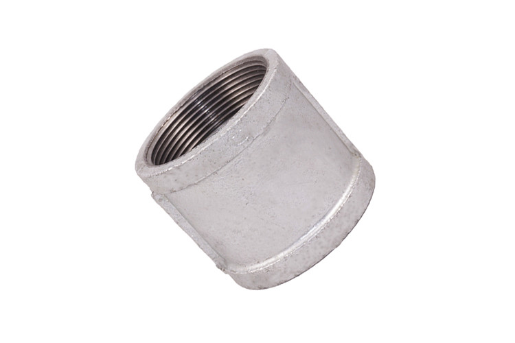 Galvanized Plumbing Malleable Iron Pipe Fittings Metal Pipe Coupling FM / UL